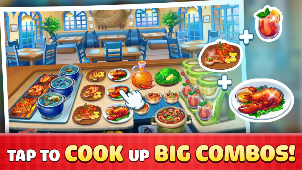 Cook It! Tap to Cook Up Big Combos!