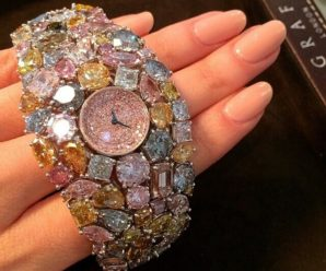 The $55 Million Dollar Graff Diamonds Hallucination Watch