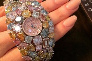 The $55 Million Dollar Graff Diamonds Hallucination Watch