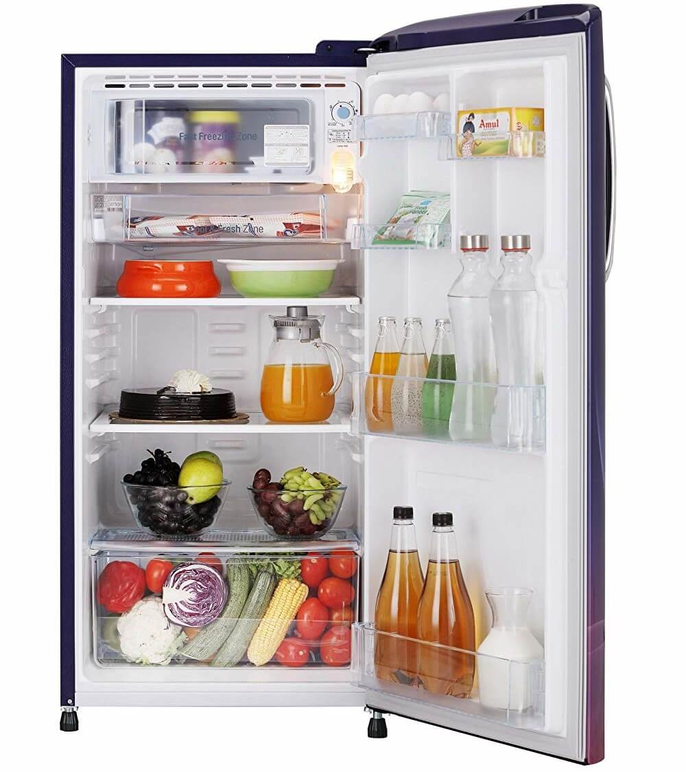 LG 190 L Direct Cool Single Door 4-Star Refrigerator