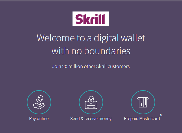 Secure Payment Method That Changed The Online Casino Environment - Skrill.  Digital wallet with no boundaries. Join 20 million other Skrill customers. . Pay online. Send and receive money online.