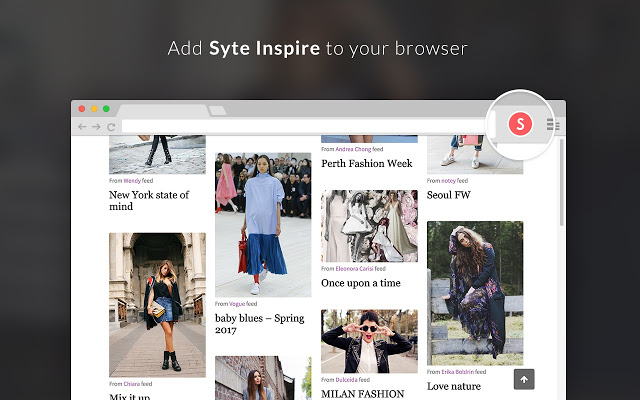Add Best Shopping Extension Style Inspire to your Chrome browser.