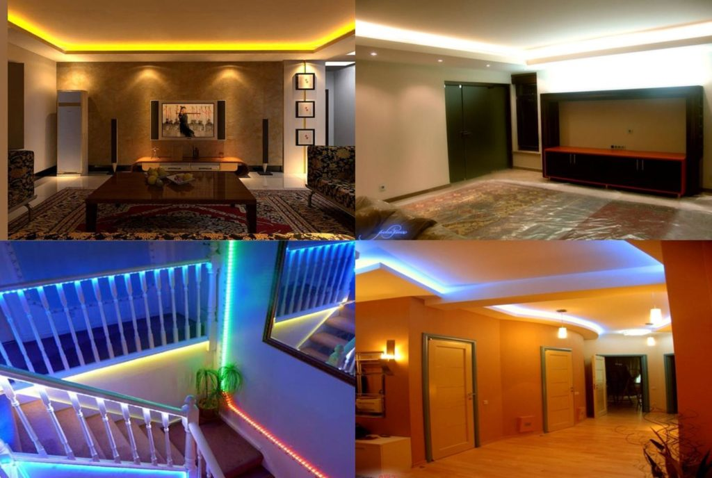 Ways To Light Up Your House With RGB LED Strips