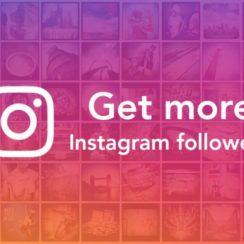 Get more Instagram followers.