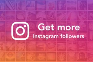 Get more Instagram followers.