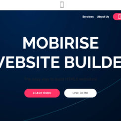 Mobirise Website Builder. Free Website Builder Software