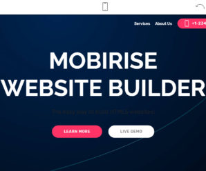 Mobirise Website Builder. Free Website Builder Software