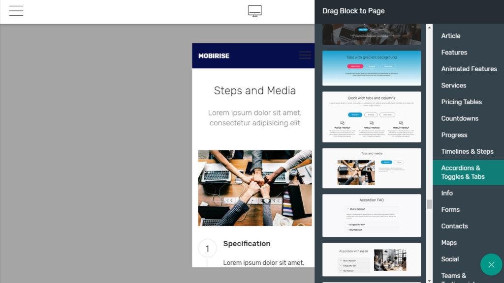 Mobirise Website Builder Software. Drag And Drop Website Builder Software