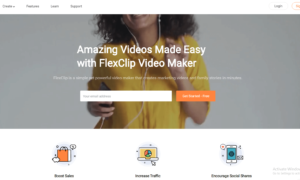 Amazing Videos Made Easy with FlexClip Video Maker. FlexClip is a simple yet powerful video maker that creates marketing videos and family stories in minutes.