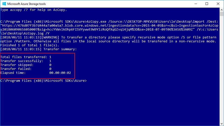 Microsoft Azure Storage tools