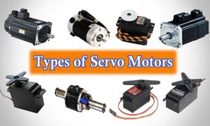 Types of Servo Motors
