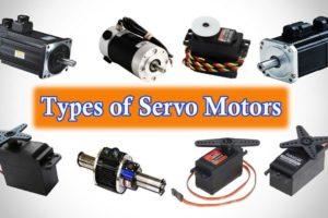 Types of Servo Motors