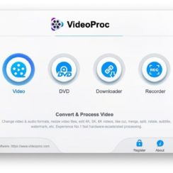 Video Processing & Editing Software