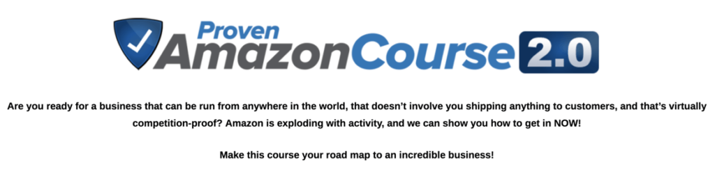 Jim Cockrum Proven Amazon Course 2.0. Are you ready for a business that can be run from anywhere in the world, that doesn't involve you shipping anything to customers, and that's virtually competition-proof? Amazon is exploding with activity, and we can show you how to get in NOW! Make this course your road map to an incredible business!