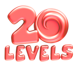 20Levels - Match Puzzles and Win Discounts. 20 Levels Game app