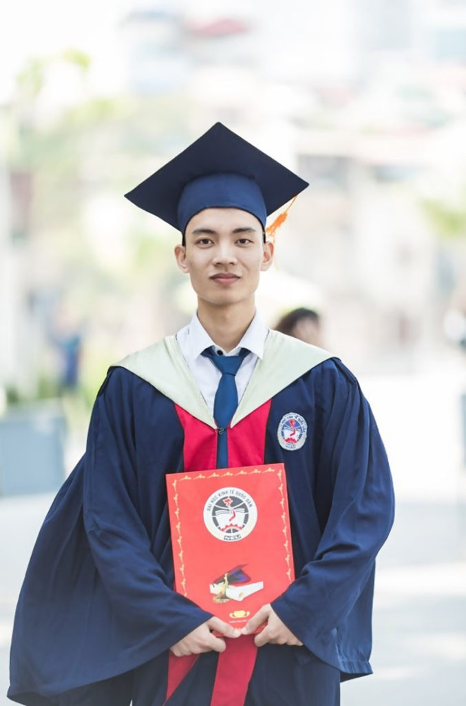Man In Toga Holding Diploma. Popular Disciplines to Study
