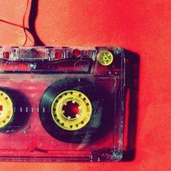 Vintage Audio Cassette Tapes Magnet