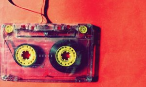 Vintage Audio Cassette Tapes Magnet