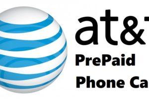 AT&T Prepaid Phone Card