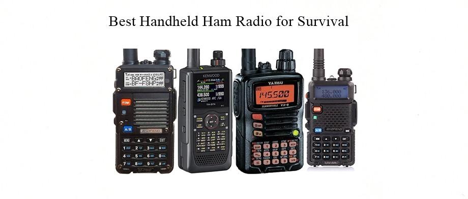 Best Handheld Ham Radio for Survival
