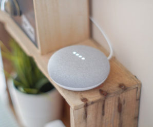 Google Home Mini - Smart Home Devices Artificial Intelligence. AI-Powered Home Devices.