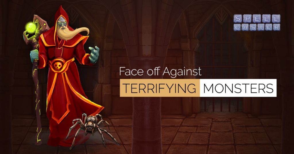 Spell Caster Puzzle RPG: Face Off Against Terrifying Monsters