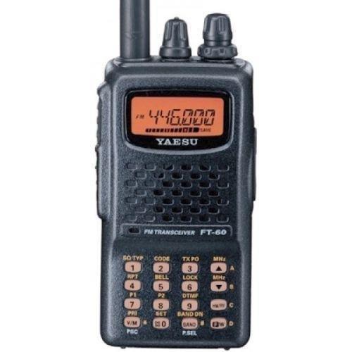 Yaesu FT-60R Dual Band Handheld Amateur Radio or Ham Radio