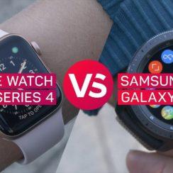 Apple Watch Series 4 vs. Samsung Galaxy Watch
