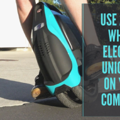 Use a One Wheel Electric Unicycle on Your Commute