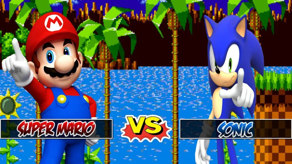 Super Mario vs Sonic the Hedgehog