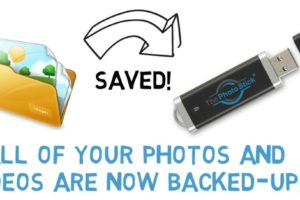 ThePhotoStick, PhotoStick, Photo Backup Stick, Photo Stick, Instantly Backup ALL Your Photos & Videos In ONE Click!