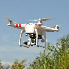 Artificial Intelligence Powered Drone with HD Camera.
