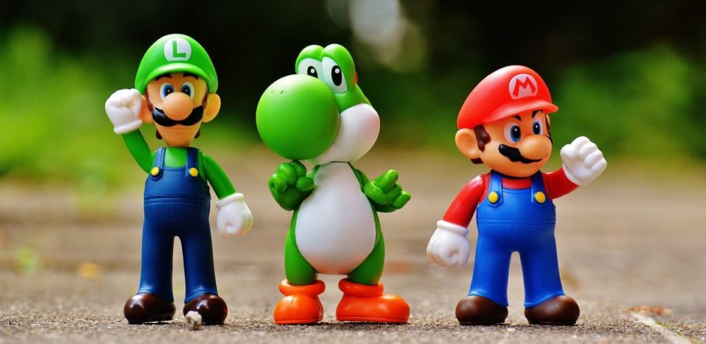 Super Mario Bros. Luigi, Yoshi, Super Mario. Video Games. Online Games.