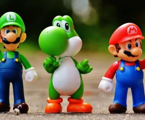 Super Mario Bros: Luigi, Yoshi, Mario