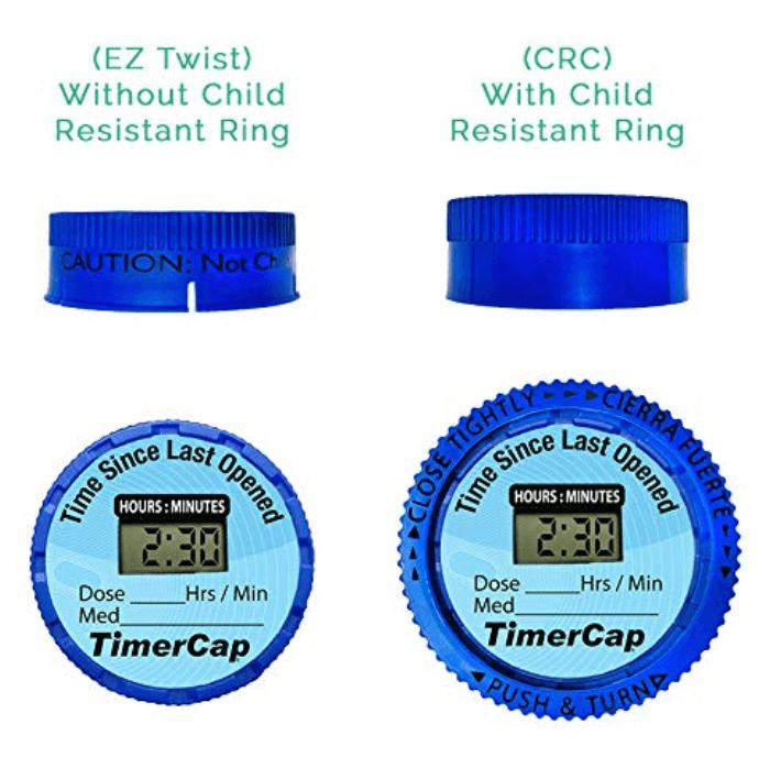 TimerCap Smart Pill Reminder