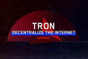 TRON: Decentralize The Internet