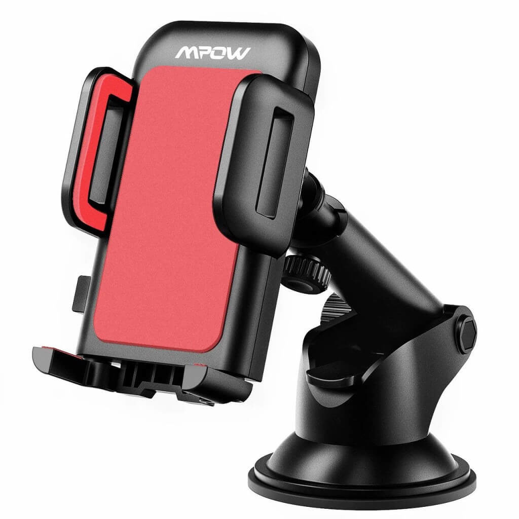 Best Gift: Mpow Car Phone Mount Compatible with iPhone 11 pro, iPhone 11 pro max,  iPhone X,  iPhone XS,  iPhone XR,  iPhone 8,  iPhone 7, iPhone 6 Plus, Galaxy S7, 8, 9, 10, Google Nexus