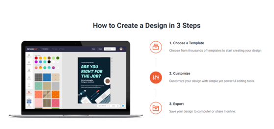 How to use DesignCap? How to Create a Design in 3 Steps?