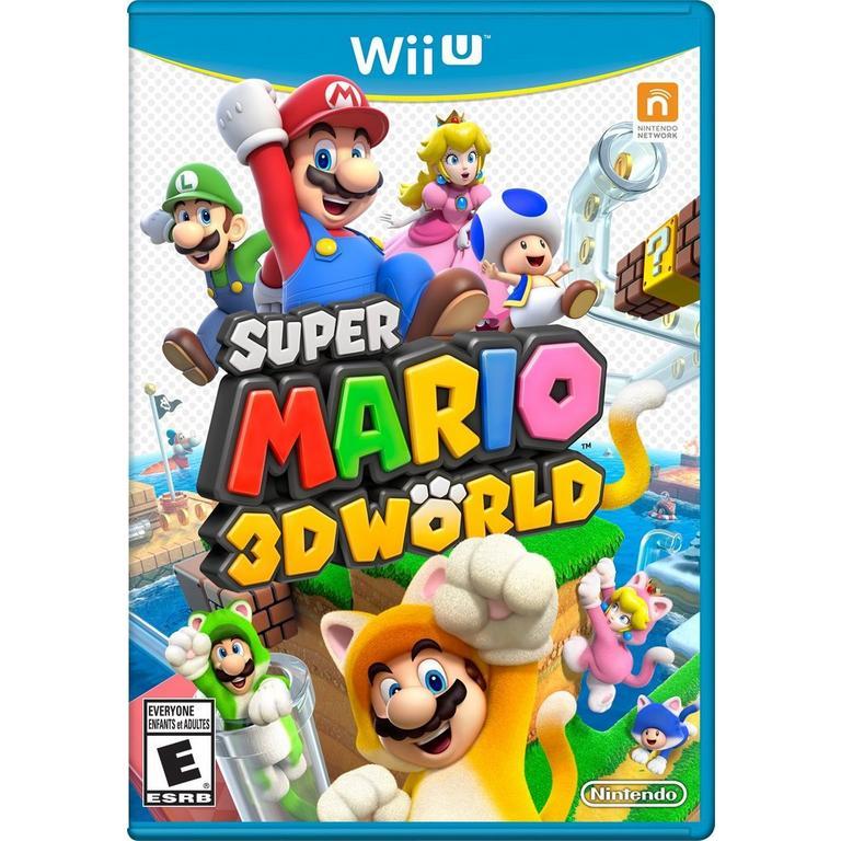 Super Mario 3D World Video Game