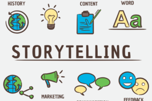 Data Storytelling, Business, Brand, Content Marketing, Viral Marketing, Technology, Story, Advertising, Online Promotion, Storytelling, Marketing Strategy, Communication.