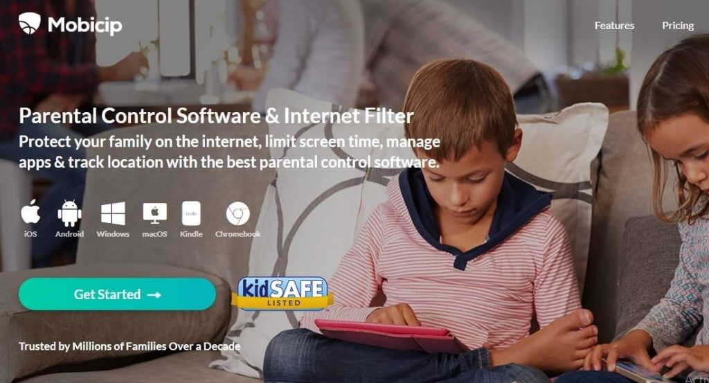 Mobicip Parental Control Software and Internet Filter. Protect your family on the internet, limit screen time, manage apps and track location with the best parental control software. Trusted by Millions of Families Over a Decade.