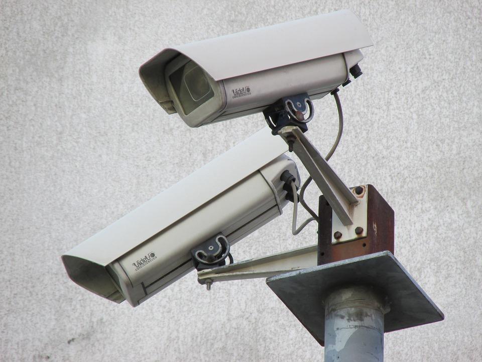 Security Camera, Video Surveillance Camera.