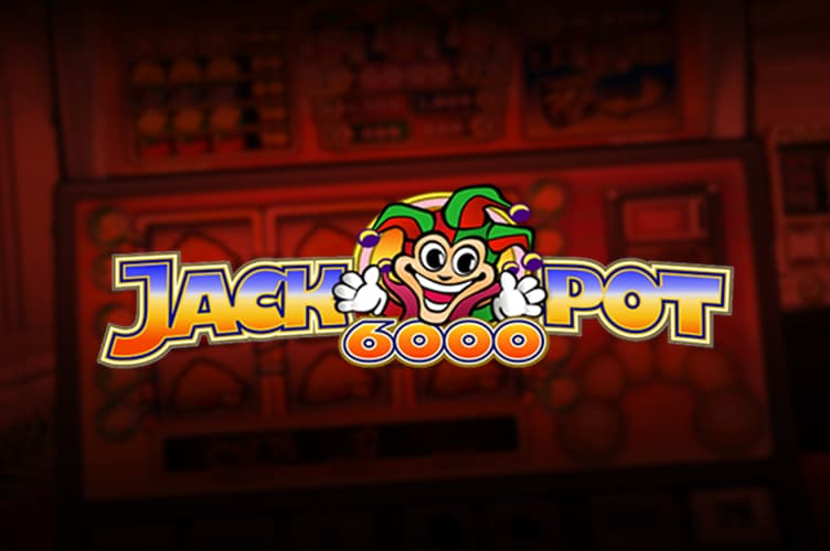 Jackpot 6000 Slot Game from NetEnt