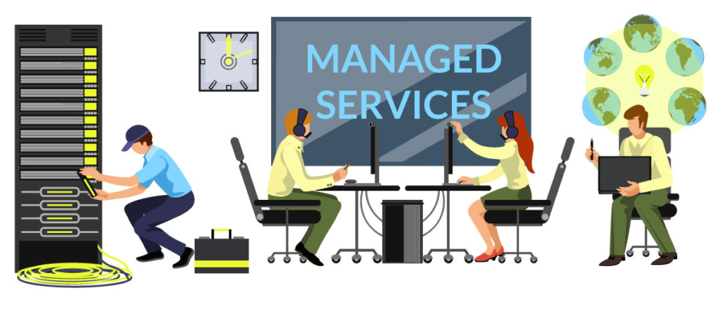 IT Managed Services offered by Ighty Support.