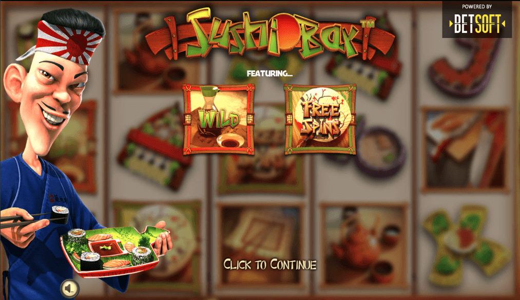Betsoft Sushi Bar Slot Game