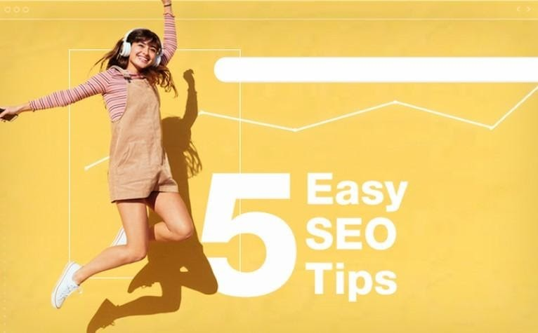 5 Easy SEO Tips to Boost Your Website  Traffic.