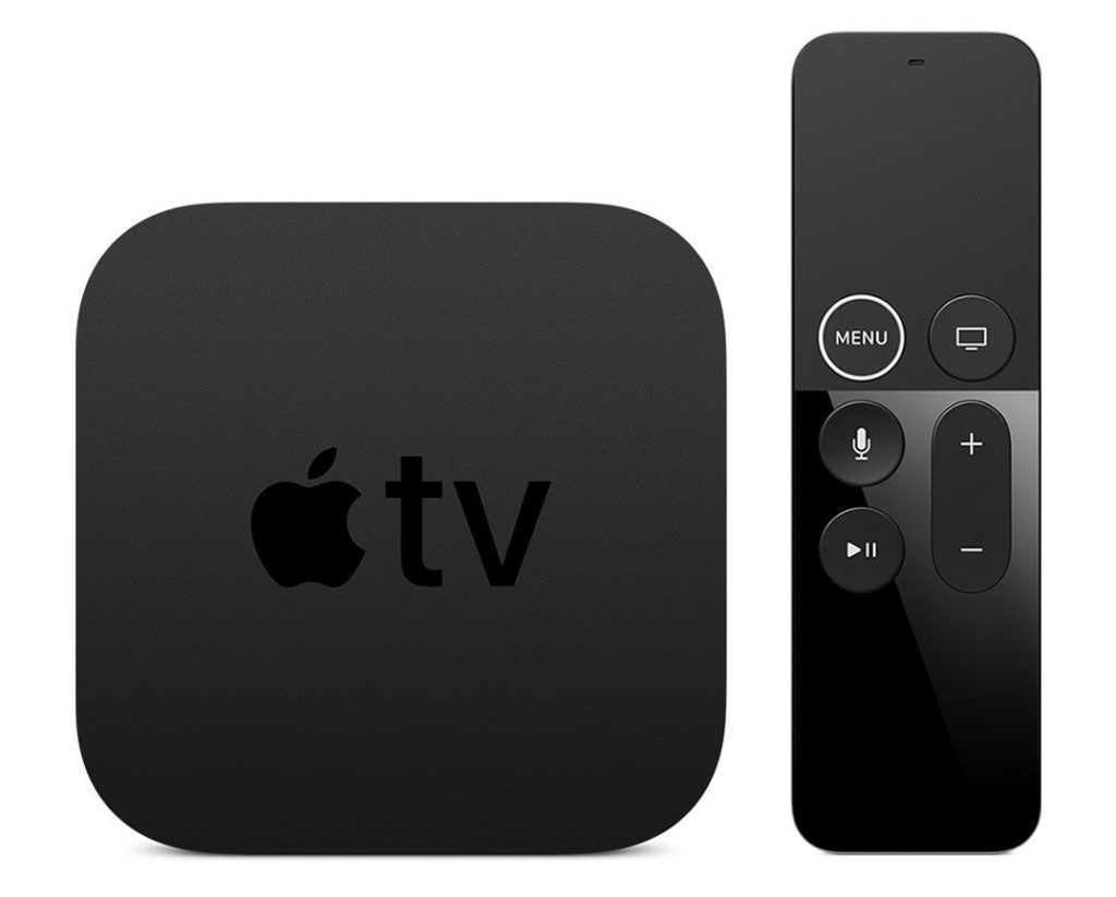 Apple TV 4K with Siri Remote.