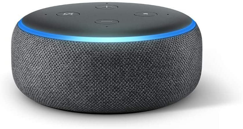 Echo Dot (3rd Gen) Smart Speaker with Alexa.
