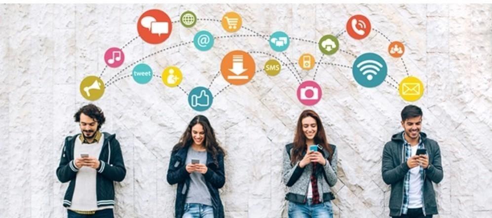 Social Media Sharing, Social Media Marketing.