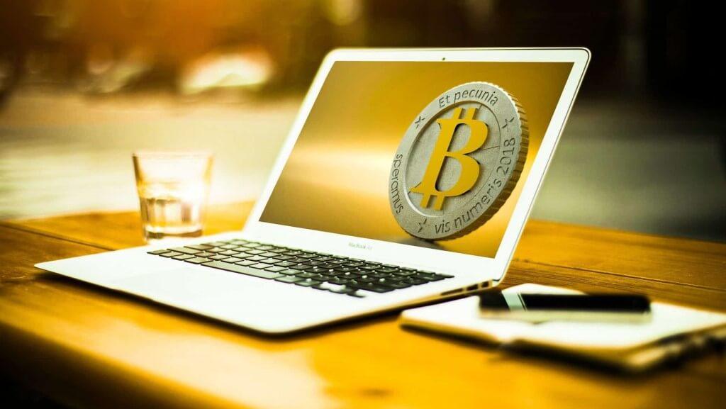 Bitcoin Mining Laptop, Bitcoin Investment.